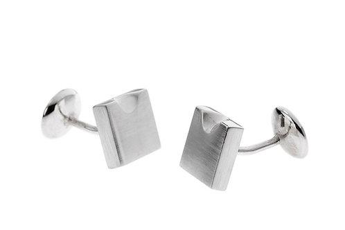 Silk&Silver 'Bite' cufflink