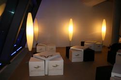 Gestaltung von Event-Lounge Möbeln