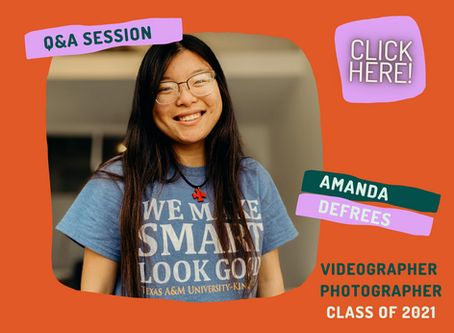 Q&A with our video production specialist, Amanda DeFrees