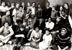 The cast and crew of Piano Lesson