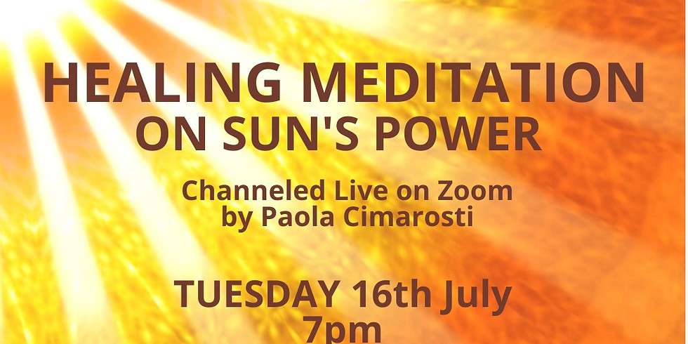 Honoring the Sun Healing Meditation