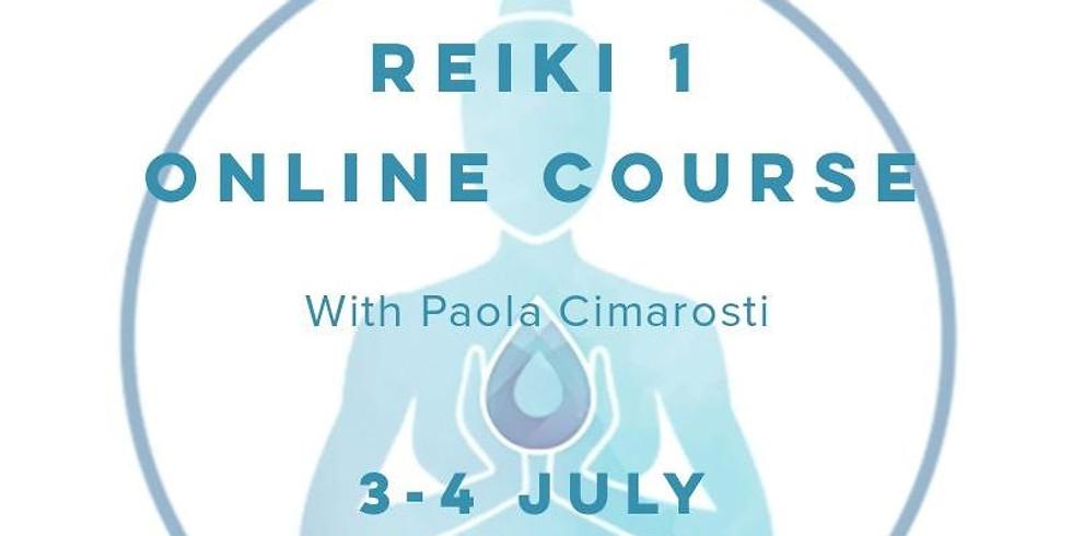 Reiki 1 Online Live Training