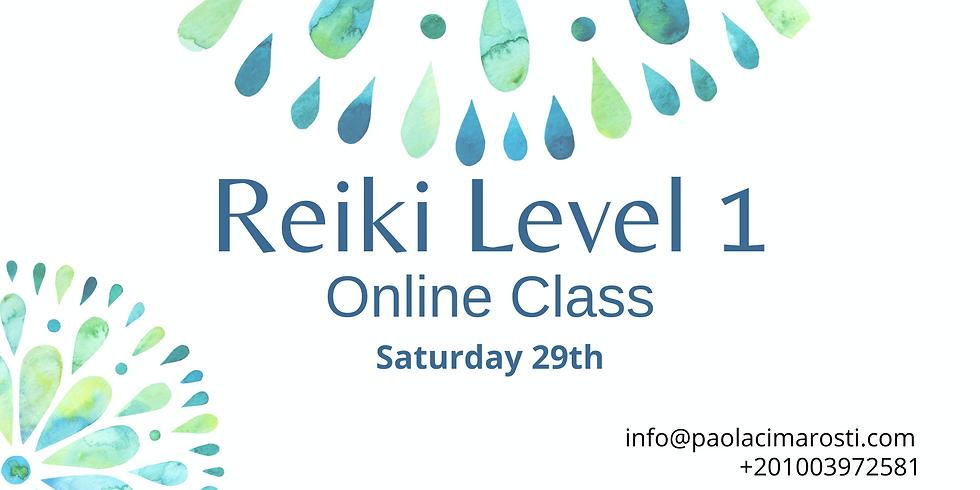 Reiki Level 1 Online Training Class