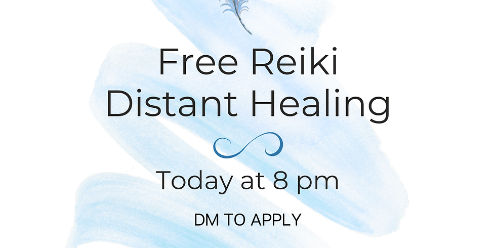 FREE Reiki Distant Healing & Personal Channeled Message