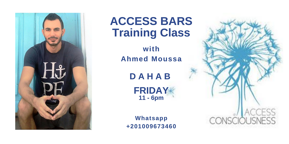 Access Bars Training Class with Ahmed Moussa