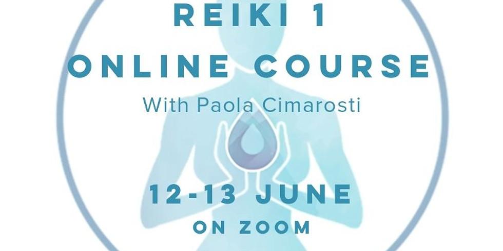 Reiki 1 Live Online Training