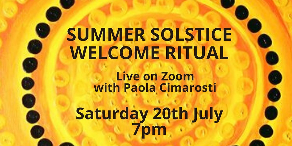 Summer Solstice Online Ritual