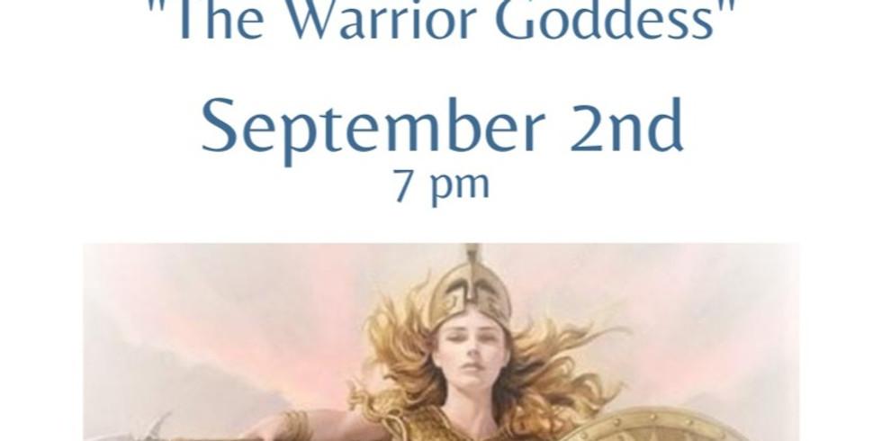 "Full Moon Online Meditation  ""The Warrior Goddess"""