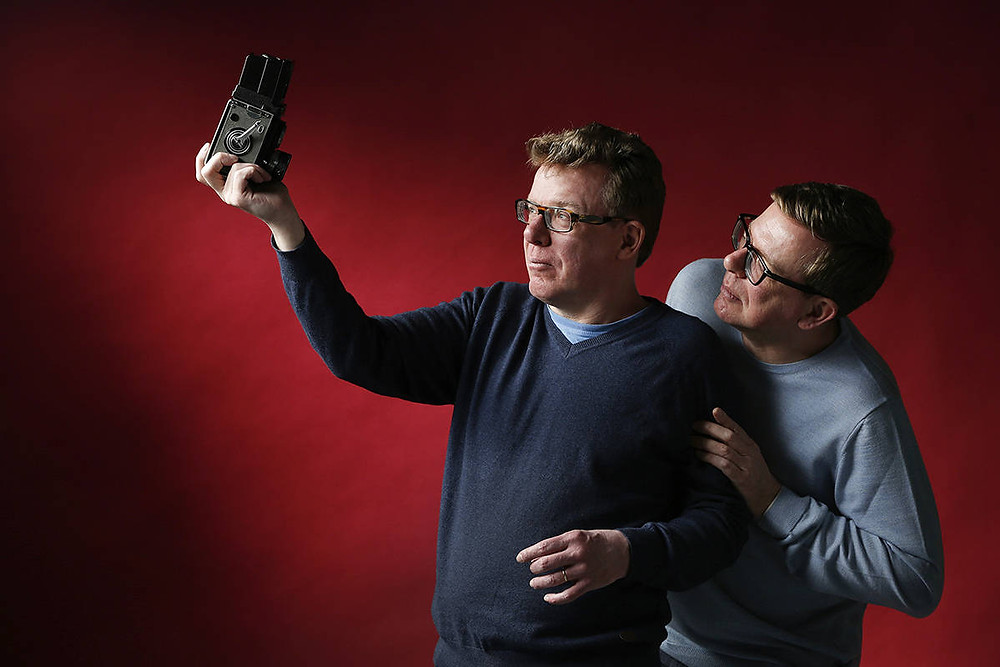 The Proclaimers help perfect the accent of Harry Goodsir of the Franklin Expedition for In Eternity.