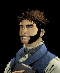 Harry Goodsir Portrait