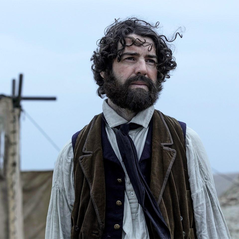 Paul Ready as Harry Goodsir in AMC's The Terror.