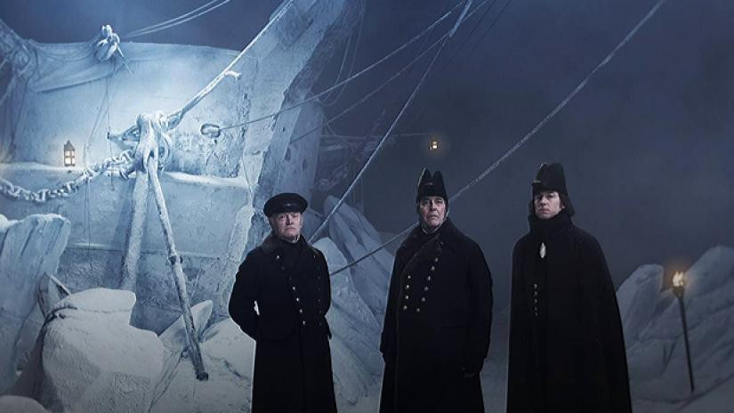 The captains on the Franklin Expedition depicted in AMC's The Terror season one