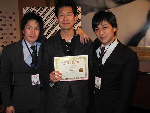 2013Boston研究室在籍時映画祭受賞.jpg
