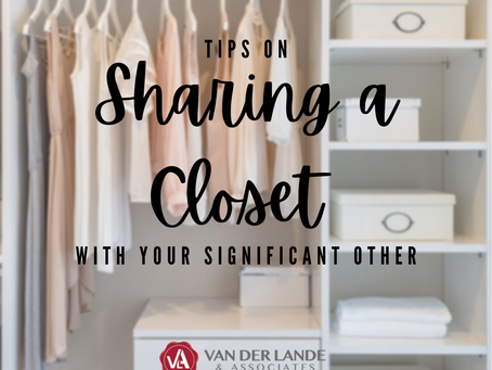 Tips for Sharing a Closet with Your Significant Other