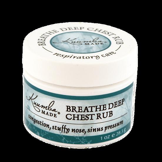 Organic Skin Care, Kuumba Made Breathe Deep Chest Rub
