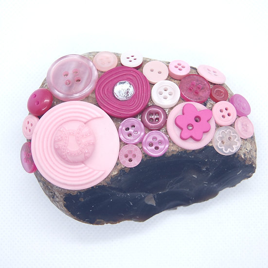 Shades of Pink Paperweight