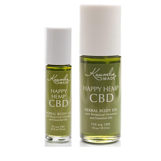 Happy Hemp CBD Herbal Body Oil