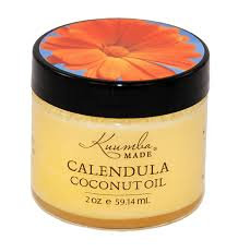 Organic Skin Care, Kuumba Made Calendula Coconut Oil