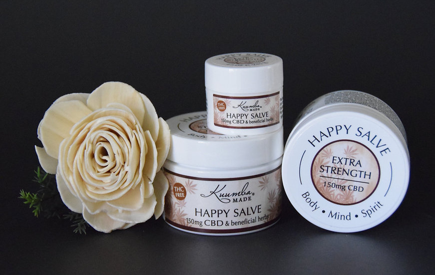 Organic Skin Care, Kuumba Made Happy Salve