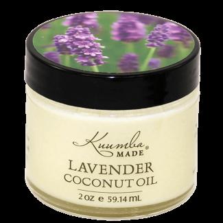 Organic Skin Care, Kuumba Made Lavender Coconut Oil