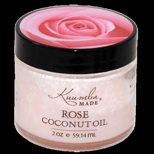 Organic Skin Care, Kuumba Made Rose Coconut Oil