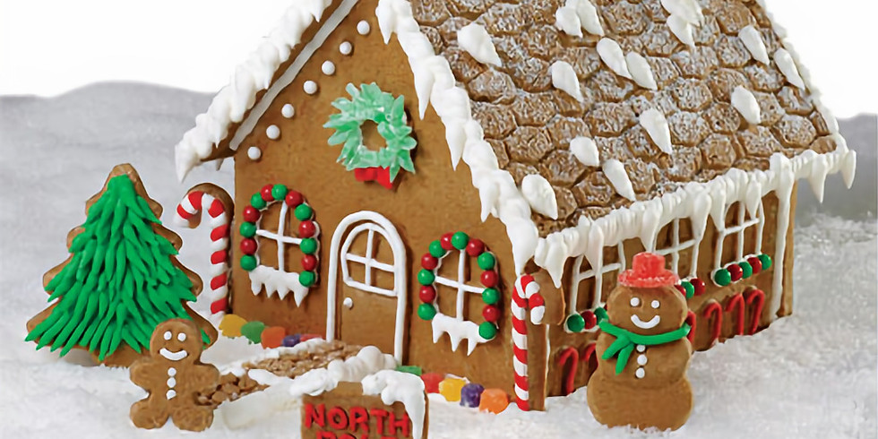 December STEM Challenge:  Help Gingy Build a Gingerbread House