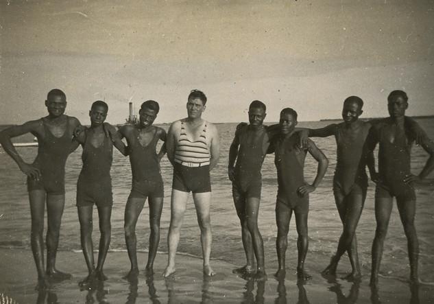 BATHERS, NIGERIA 1932
