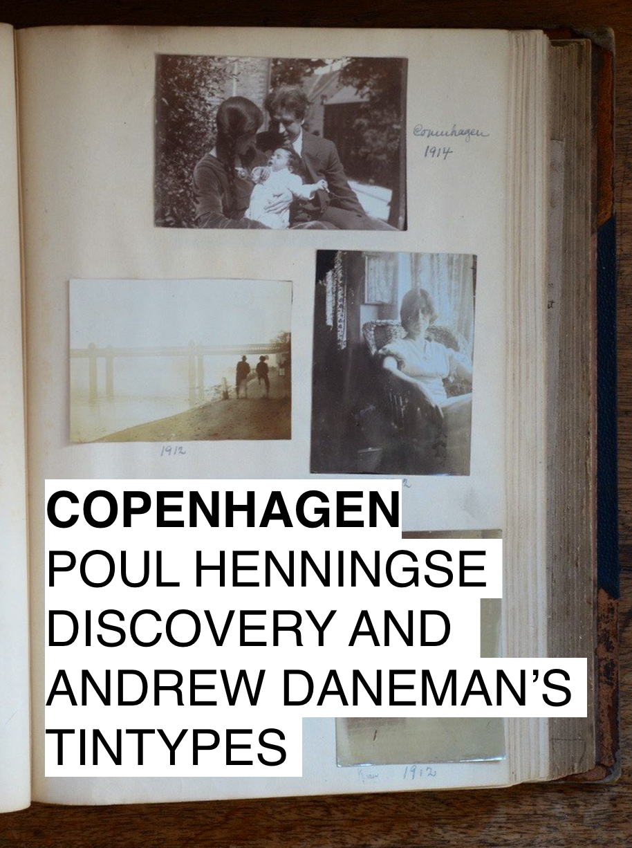 Copenhagen: Tintypes and Poul Henningsen