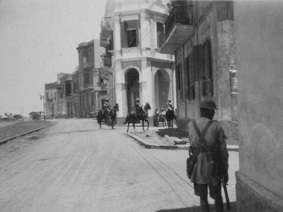 Mansura Riots Egypt. c.1929