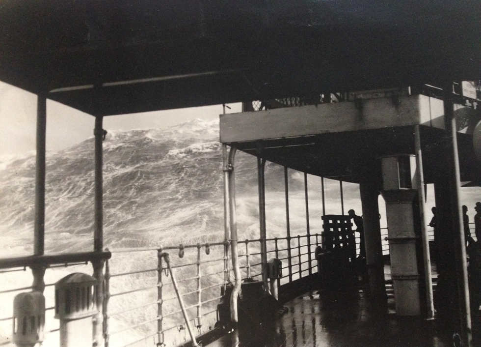 The Wave. Atlantic Ocean c.1919