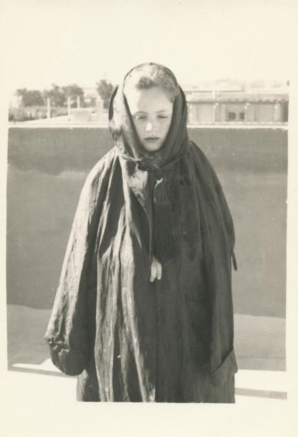 THE SAD GIRL. c.1950's
