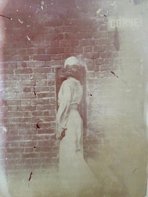 KAREN POSTING A LETTER c.1910's