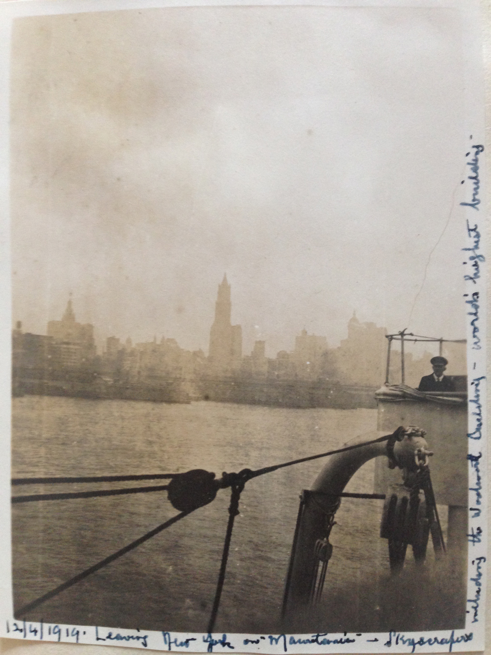 New York 1919 Shaw Desmond Album