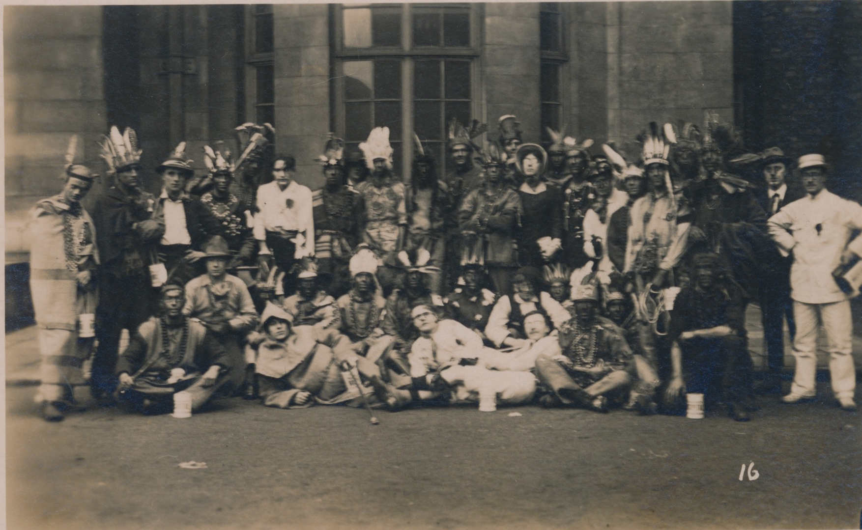 Costume Party, England c.1900's