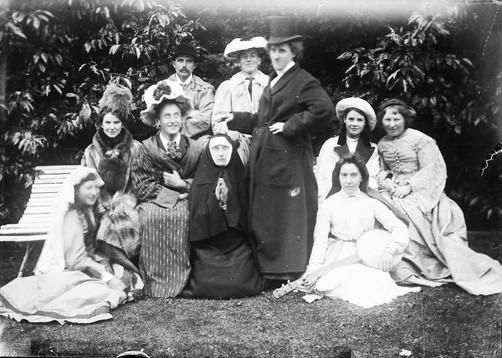 VICTORIAN FANCY DRESS c.1880's