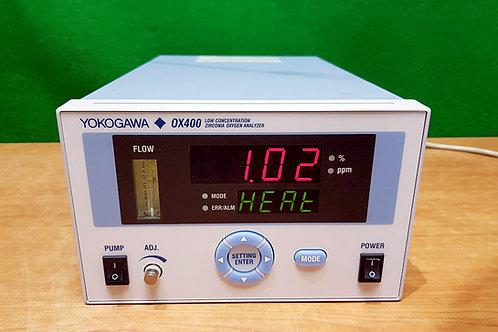 Yokogawa OX400 Low Concentration Zirconia Oxygen Analyzer