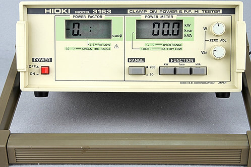 Hioki 3163 Clamp on Power & P.F. Hi Tester