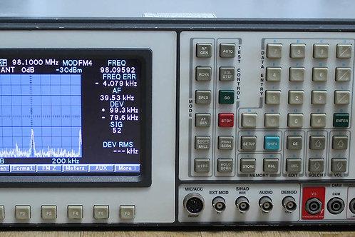 IFR FM/AM 1600 Communications Service Monitor Spectrum Analyzer