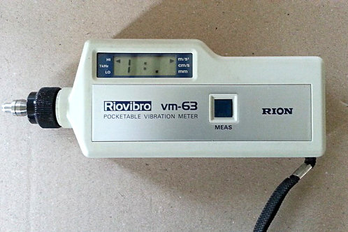 Rion VM-63 Pocketable Vibration Meter