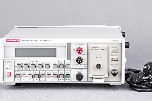 Advantest TQ8215 Optical Power Multimeter