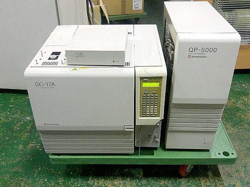 Shimadzu GC-17A, QP-5000 GC/MS