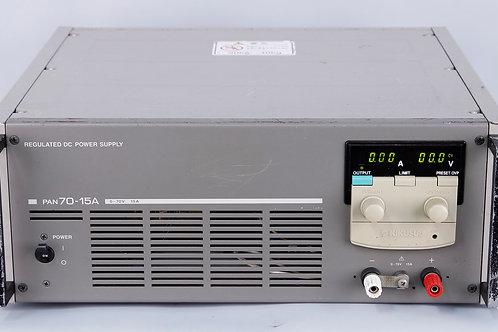 Kikusui PAN70-15A Regulated DC Power Supply