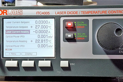 Thorlabs ITC4005 Laser Diode / Temperature Controller