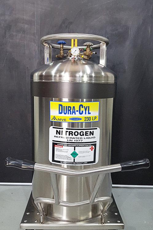MVE Dura-Cyl 230LP Nitrogen Tank