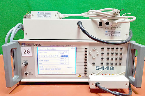 MicroTest 5448 Multi Scanning LCR Tester