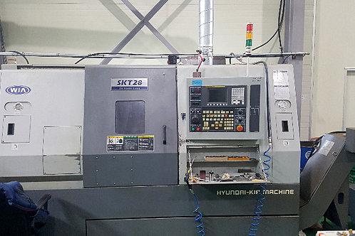 Hyundai Wia SKT28 CNC Lathe Turning Center