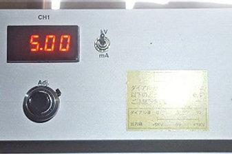 Matsusada ECA-5B1X2-LPJ High Voltage Power Supply