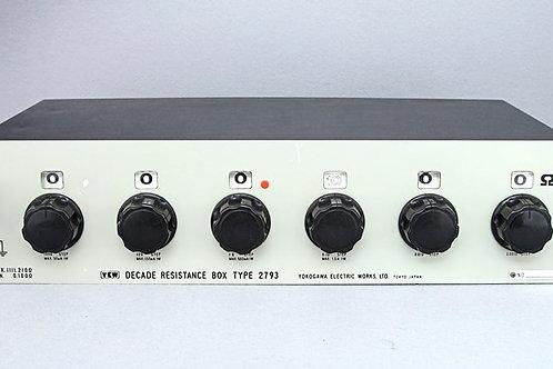 Yokogawa 2793 Decade Resistance Box