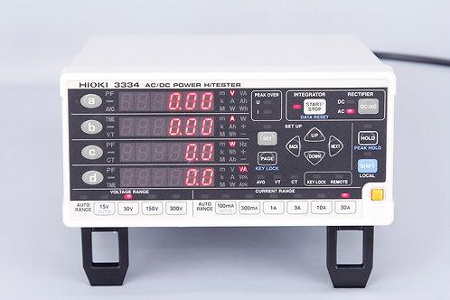 Hioki 3334 AC/DC POWER HiTESTER