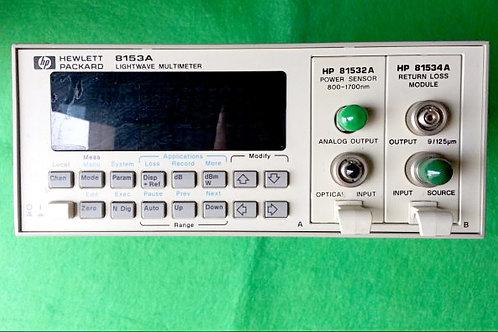 HP 8153A Lightwave Multimeter
